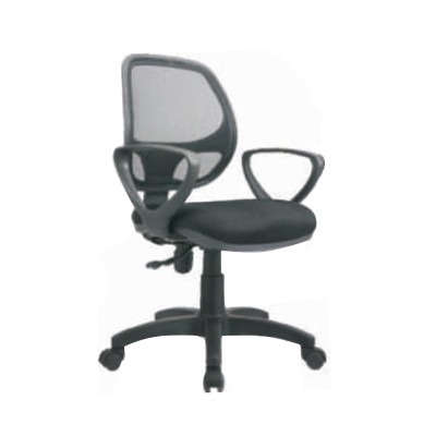 Clerical Mesh Chair With Armrest Gaslift  Es369