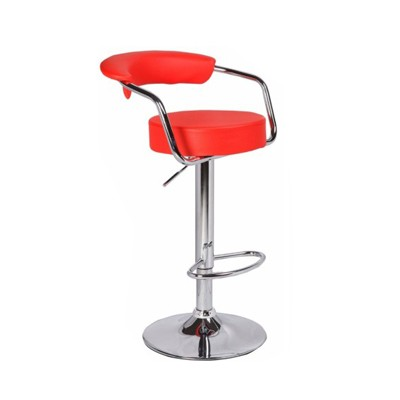 bar stool with back support