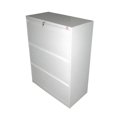 3 layer lateral cabinet