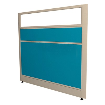 wall partition with glass