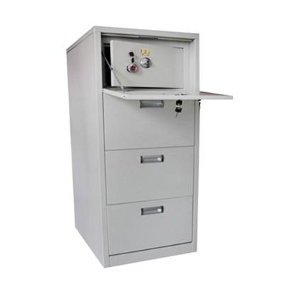 steel cabinet with vault