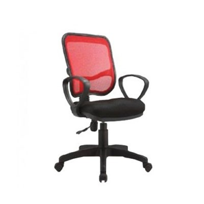 Clerical Mesh Chair With Armrest, Gaslift Es-351