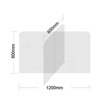 acrylic glass divider