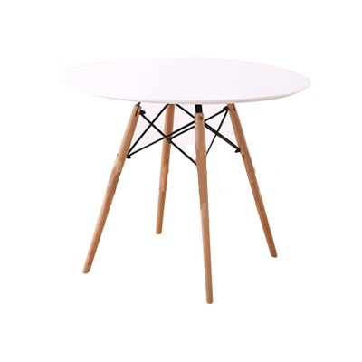 round table white top