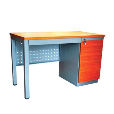 desk with locking drawers