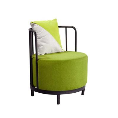single round lounge chair