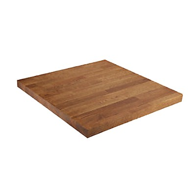 square wood table top