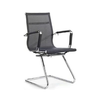 Mesh Visitors Chairs Chrome Legs 985d