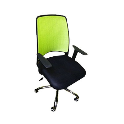 Midback Office Chair W Armrest, Gaslift C-nm1203