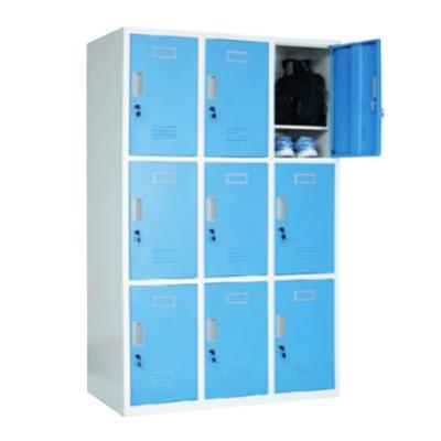 9 door locker