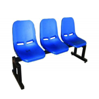 3 Seater Plastic Gang Chair