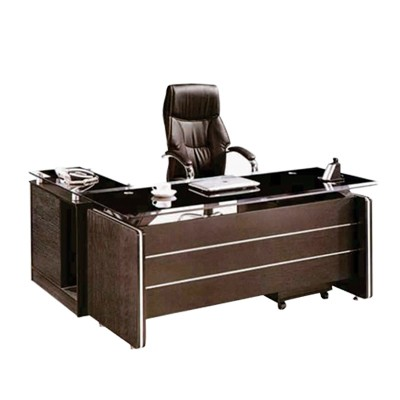 executive office table with glass top