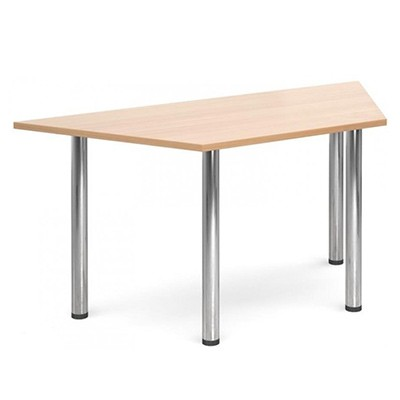 trapezoid meeting table