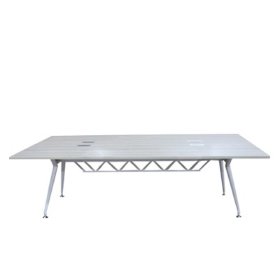 Conference Table, Melamine Board And Metal Cs503
