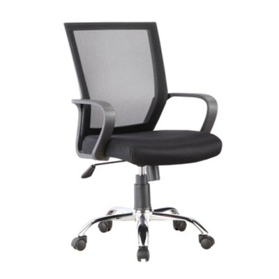 fabric desk chair with wheels