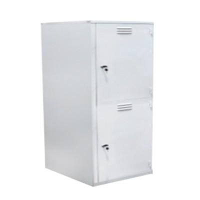 2 door metal locker