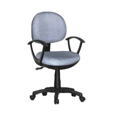Office Fabric Chair With Armrest, Gaslift Jgy006ga