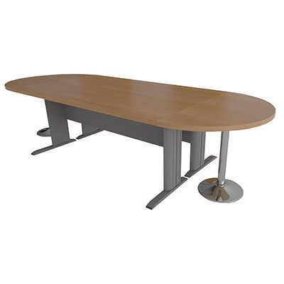 Customized Oval Shaped Conference Table