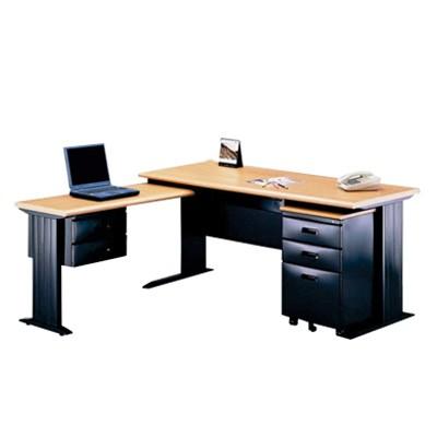 l shaped corner computer office desk