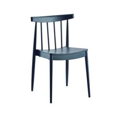 Plastic Visitors Chairs Black Legs 085