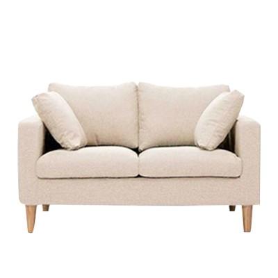 beige fabric sofa