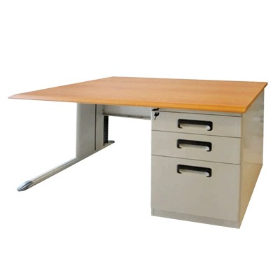 table with pedestal
