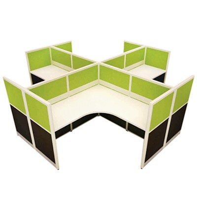 fabric office partition