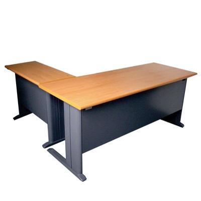 l shaped workstation table