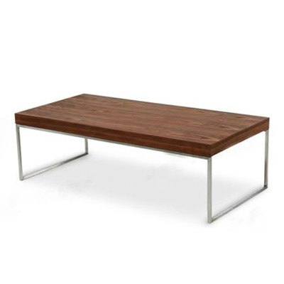 simple wooden center table