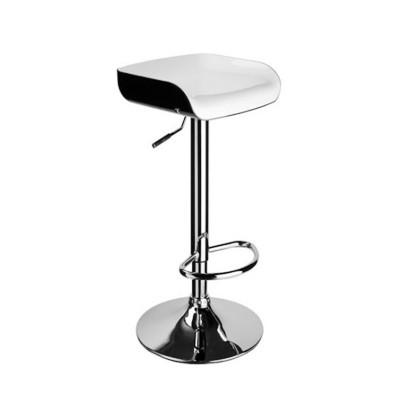Barstool Chair Acrylonitrile Butadiene Styrene Plastic, Chrome Steel Leg With Armrest Wy-199a